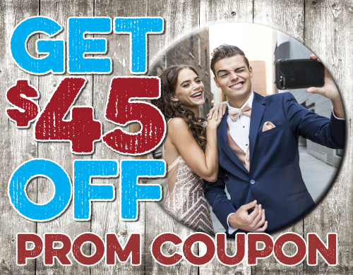 Get $45 Off Prom Coupon