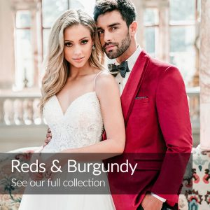 Red Wedding Suits Tuxedos